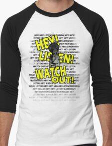 HEY HEY! Men's Baseball ¾ T-Shirt