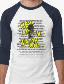 HEY HEY! Men's Baseball ¾ T-Shirt