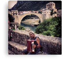 Balkan Blues Canvas Print