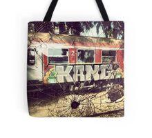 Bullet Train Tote Bag
