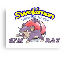 Pokemon - Gym Rat Canvas Print