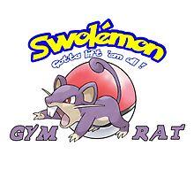 Pokemon - Gym Rat Photographic Print