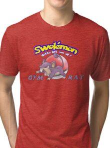 Pokemon - Gym Rat Tri-blend T-Shirt