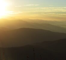 November Sunrise from Clingmans Dome by KellieSharpe