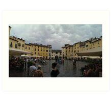 Lucca Piazza dell'Anfiteatro Art Print