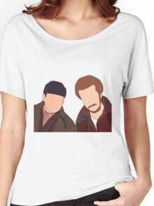 Harry and Marv, Home Alone Faceless Women's Relaxed Fit T-Shirt