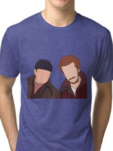 Harry and Marv, Home Alone Faceless Tri-blend T-Shirt