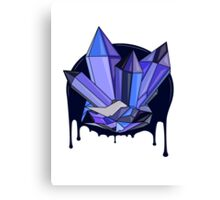 Monsoon Crystals Canvas Print