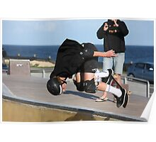 Floating A Backside Ollie Poster