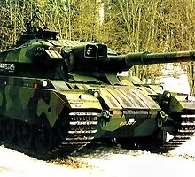 Stridsvagn 105 Main Battle Tank by boogeyman