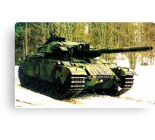 Stridsvagn 105 Main Battle Tank Canvas Print