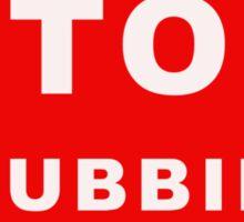 Stop Phubbing Sticker
