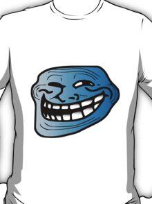 Cool Blue Trollface T-Shirt