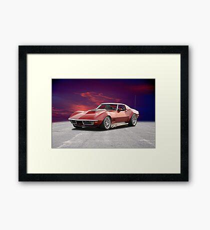C3 Corvette Stingray Framed Print