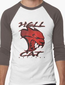 Hellcat Glare Men's Baseball ¾ T-Shirt