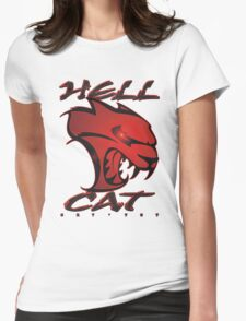 Hellcat Glare Womens Fitted T-Shirt