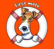 Wire Fox Terrier : First Mate Kids Tee