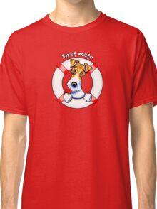 Wire Fox Terrier : First Mate Classic T-Shirt