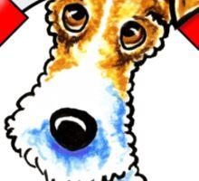 Wire Fox Terrier : First Mate Sticker
