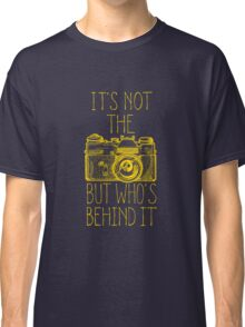 Camera yellow ink Classic T-Shirt