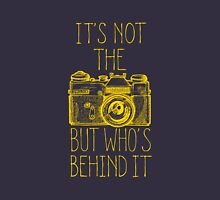 Camera yellow ink Unisex T-Shirt
