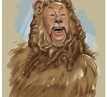 The Cowardly Lion by tsantiago
