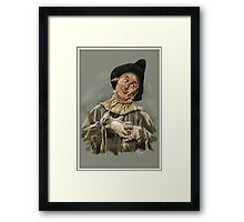 The Scarecrow Framed Print