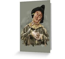 The Scarecrow Greeting Card