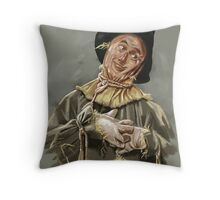 The Scarecrow Throw Pillow