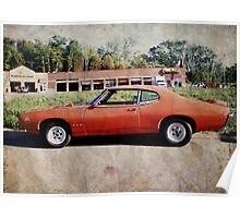 Classic American Muscle Poster