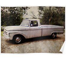 Classic American Truck Poster