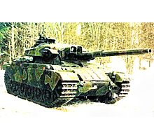 Stridsvagn 105 Main Battle Tank e1 Photographic Print