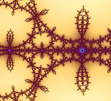 False Mandelbrot Byways No. 15 by Mark Eggleston