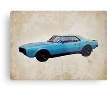 Grabber Blue Firebird Metal Print