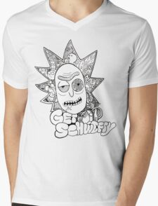 Get Schwifty Mens V-Neck T-Shirt