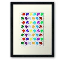 Ski Cross!!!!!!! Framed Print