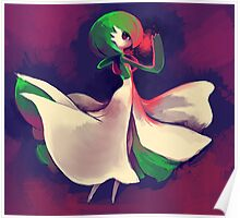 Gardevoir used Shadow Ball  Poster