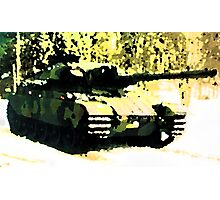 Stridsvagn 105 Main Battle Tank e2 Photographic Print