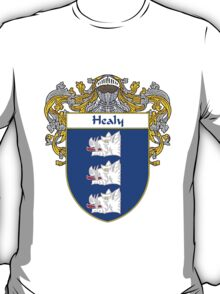 Healy Coat of Arms/Family Crest T-Shirt
