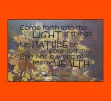 Let Nature Be Your Teacher Kids Clothes