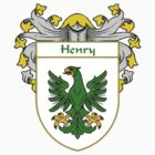 Henry Coat of Arms/Family Crest by William Martin