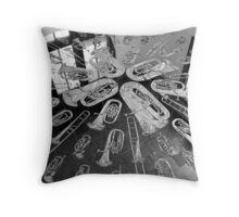 V&A Brass Section Throw Pillow