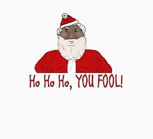 Angry Black Santa Claus  Unisex T-Shirt