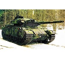 Stridsvagn 105 Main Battle Tank e3 Photographic Print