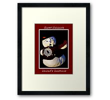 Happy Holidays ~ Part One Framed Print