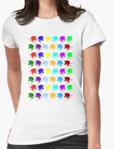 Ski Cross! Womens Fitted T-Shirt