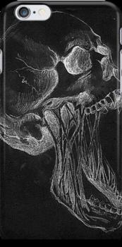 Skull Phone Case by jealousykills