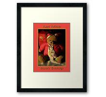 Happy Holidays ~ Part Three Framed Print