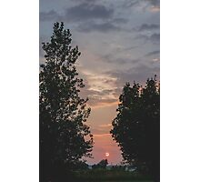 Gradient Sky Photographic Print