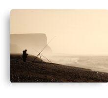 Head Angler Canvas Print